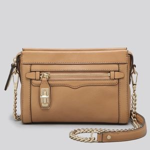 Rebecca Minkoff Mini Crosby Crossbody Tan